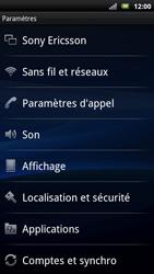 Sony Ericsson Xperia Neo - Wifi - configuration manuelle - Étape 3