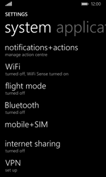 Microsoft Lumia 532 - Internet - Enable or disable - Step 4
