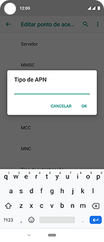 Motorola One Vision - Internet (APN) - Como configurar a internet do seu aparelho (APN Nextel) - Etapa 14