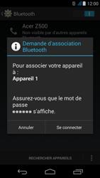 Acer Liquid Z500 - Bluetooth - Jumeler avec un appareil - Étape 7