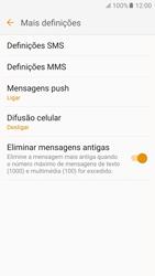 Samsung Galaxy S6 Android M - SMS - Como configurar o centro de mensagens -  7