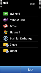 Nokia N8-00 - Email - Manual configuration - Step 7