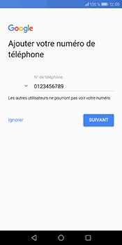 Huawei P Smart - Applications - Créer un compte - Étape 14