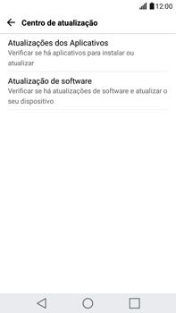 LG G5 Stylus - Funções básicas - Como atualizar o software do seu aparelho - Etapa 6