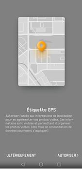 Huawei P20 pro - Photos, vidéos, musique - Créer une vidéo - Étape 4