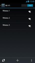 Acer Liquid Z5 - WiFi et Bluetooth - Configuration manuelle - Étape 6