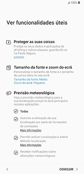 Samsung Galaxy Note 8 - Android Oreo - Primeiros passos - Como ligar o telemóvel pela primeira vez -  22