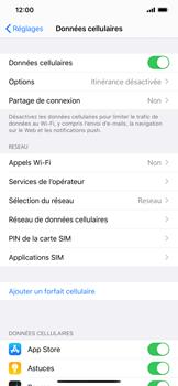 Apple iPhone XR - iOS 13 - Sécurité - modifier SIM PIN - Étape 4