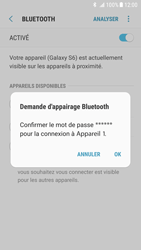 Samsung Galaxy S6 - Android Nougat - Bluetooth - connexion Bluetooth - Étape 10