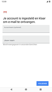 Nokia 8-sirocco-ta-1005-android-pie - E-mail - Account instellen (POP3 met SMTP-verificatie) - Stap 20