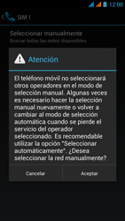 Wiko Stairway - Red - Seleccionar una red - Paso 10
