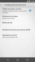 Sony Xperia Z1 - Internet - Activar o desactivar la conexión de datos - Paso 6