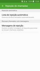 Samsung Galaxy J5 - Chamadas - Como bloquear chamadas de um número específico - Etapa 10