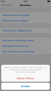 Apple iPhone 6s Plus - Appareil - Réinitialisation de la configuration d