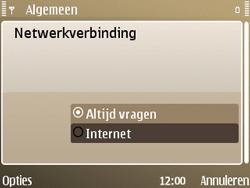 Nokia E72 - Internet - handmatig instellen - Stap 25