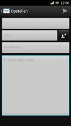 Sony Ericsson Xperia Arc met OS 4 ICS - E-mail - Hoe te versturen - Stap 6