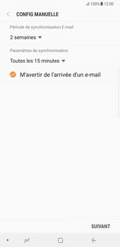 Samsung Galaxy Note 8 - E-mail - Configuration manuelle - Étape 17