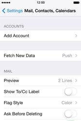 Apple iPhone 4 S iOS 7 - E-mail - Manual configuration (yahoo) - Step 4