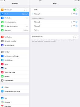 Apple iPad Pro 12.9 (1st gen) - iOS 10 - WiFi et Bluetooth - Configuration manuelle - Étape 7