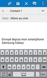 Samsung J100H Galaxy J1 - E-mail - envoyer un e-mail - Étape 8