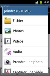 Samsung S5690 Galaxy Xcover - E-mail - Envoi d