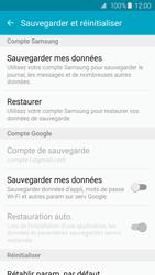 Samsung G925F Galaxy S6 Edge - Device maintenance - Back up - Étape 7