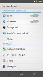 Sony D2303 Xperia M2 - Internet - Uitzetten - Stap 5
