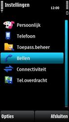 Nokia X6-00 - Voicemail - handmatig instellen - Stap 5