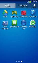 Samsung Galaxy Ace 3 LTE - Aplicações - Como configurar o WhatsApp -  4