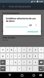Sony Xperia XA1 - Internet - Ver uso de datos - Paso 11