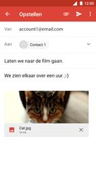 Nokia 3 - E-mail - Hoe te versturen - Stap 15