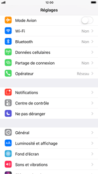 Apple iPhone 6 Plus - iOS 11 - Premiers pas - Configurer l
