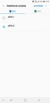 Samsung Galaxy J8 - Internet (APN) - Como configurar a internet do seu aparelho (APN Nextel) - Etapa 18