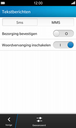 BlackBerry Z10 - MMS - Handmatig instellen - Stap 6