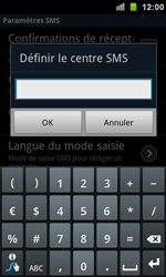 Samsung I9100 Galaxy S II - SMS - configuration manuelle - Étape 5