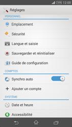 Sony Xpéria Z3 - Sécuriser votre mobile - Personnaliser le code PIN de votre carte SIM - Étape 4