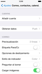 Apple iPhone 6 iOS 8 - E-mail - Configurar Yahoo! - Paso 4