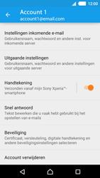 Sony Xperia M4 Aqua (E2303) - E-mail - Instellingen KPNMail controleren - Stap 11