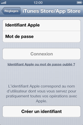 Apple iPhone 4 S - Applications - Créer un compte - Étape 4