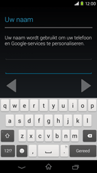 Sony D2303 Xperia M2 - Applicaties - Account aanmaken - Stap 6