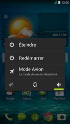 Acer Liquid Z410 - Device maintenance - Effectuer une réinitialisation logicielle - Étape 3