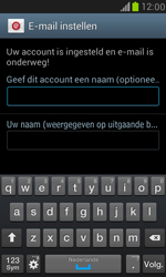 Samsung I8190 Galaxy S III Mini - E-mail - Account instellen (IMAP zonder SMTP-verificatie) - Stap 15