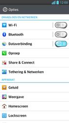 LG D505 Optimus F6 - WiFi - Handmatig instellen - Stap 4
