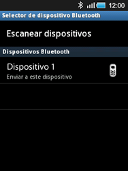 Samsung S5570 Galaxy Mini - Bluetooth - Transferir archivos a través de Bluetooth - Paso 9