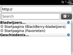 BlackBerry 9700 Bold - Internet - Hoe te internetten - Stap 4
