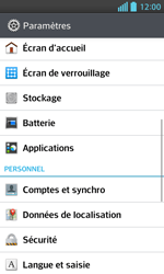 LG Optimus L5 II - Applications - Supprimer une application - Étape 4