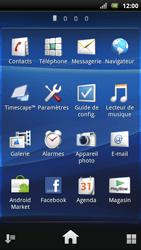Sony Ericsson Xperia Arc S - E-mail - envoyer un e-mail - Étape 2