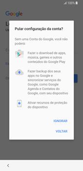 Samsung Galaxy S9 - Primeiros passos - Como ativar seu aparelho - Etapa 13
