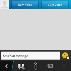 BlackBerry Q10 - Contact, Appels, SMS/MMS - Utiliser la visio - Étape 6