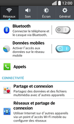 LG F70 - Premiers pas - Configurer l